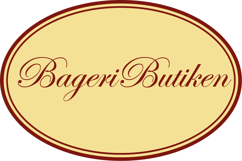 bageributiken - logga - oval