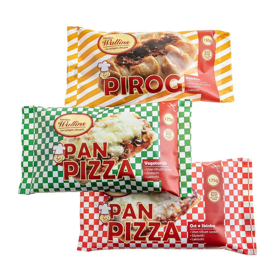 Samlingsbild pizza